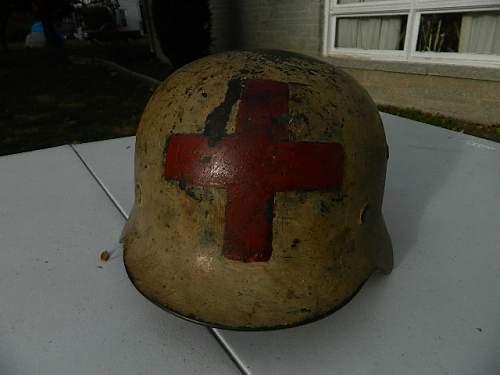 German Medics Helmet continued