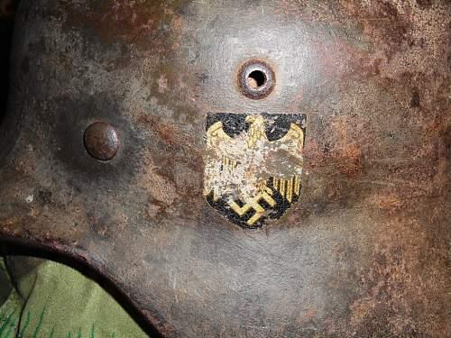 M-35 Helmet, looking for info....