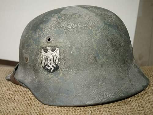 M 35 DD Wehrmacht, ex-Afrika, then rough Field grey Ostfront