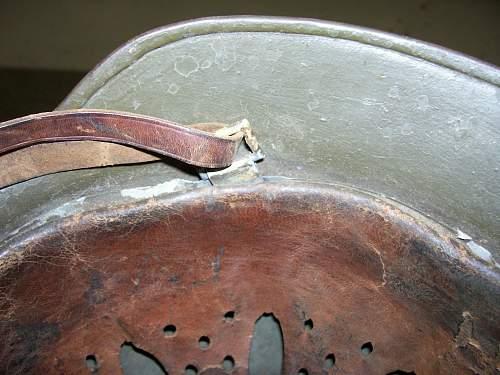 M35 Helmet/Spanish Civil War
