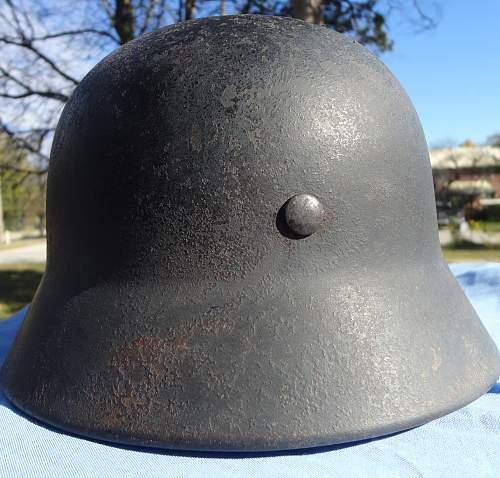 M-40 Heer Helmet Rescued
