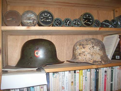 My first decent German helmet