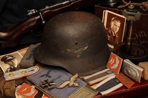 My new Luftwaffe M42 helmet
