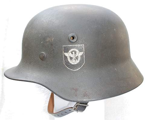 Show Off Your Combat Police Helmet!