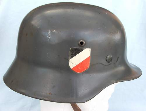 Click image for larger version.  Name:Luft M35 d-d helmet early type 004.jpg Views:287 Size:153.0 KB ID:605363