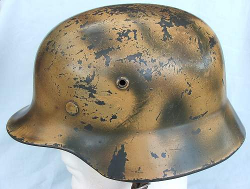Click image for larger version.  Name:Copy of Luft M35 d-d cammo helmet 002.jpg Views:185 Size:219.8 KB ID:605372