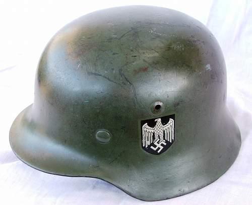 Click image for larger version.  Name:Heer apple green M35 helmet 009.jpg Views:226 Size:224.7 KB ID:605439