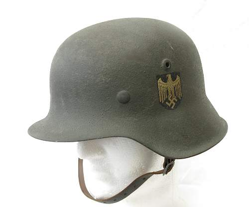 My Heer steel helmets, all four of 'em...