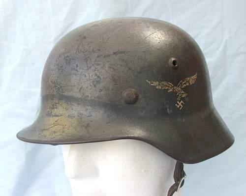 Click image for larger version.  Name:Luftwaffe helmet 012.jpg Views:107 Size:178.0 KB ID:605848
