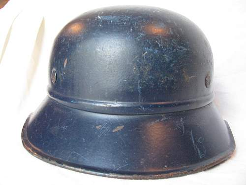 Relatively Rare RAD Helmet on an M38 3 Piece Gladiator Shell