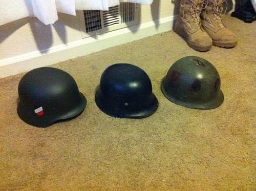 M34 fire/police helmet