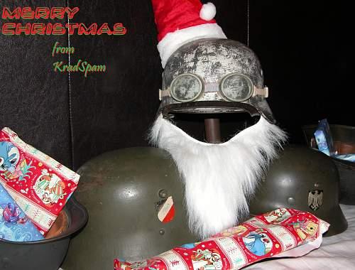 Merry Christmas helmeteers :-)