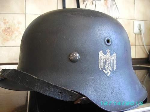 German steel helmets and the order on Abtarnung