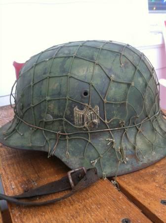 M42 Heer SD netted helmet