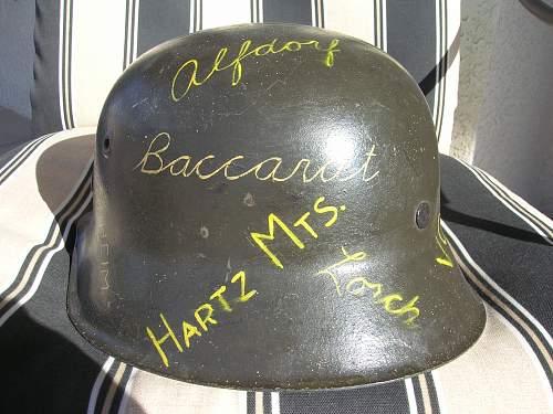 My M42 Soldier Art Helm