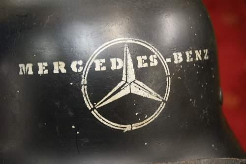Mercedes-Benz Feuerwehr helmet- fake?