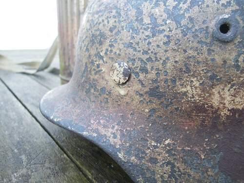 Normandy Camo Helmets ( real camo ? )