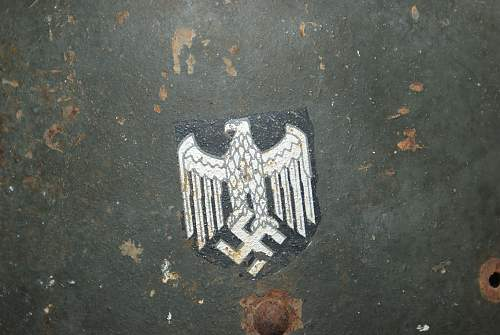Czech M34 with german decal