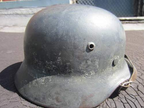 Helmet from local paper ad