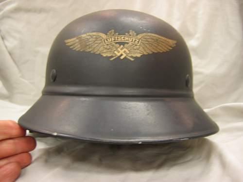 Rare? or Common Luftschutz Helmet?