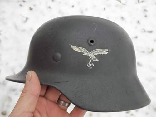 Luftwaffe M35 Double Decal