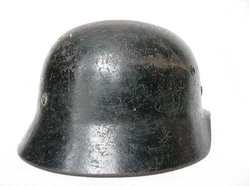 SD M40 Heer - Period Applied Black Overpaint