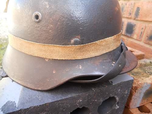 German helmet any help please!!