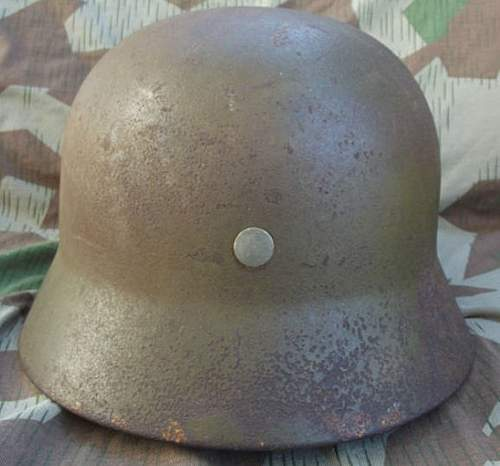 Luftwaffe field division types of helmets