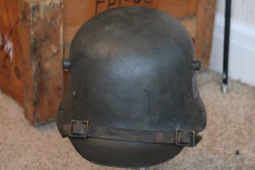 Transitional Danzig helmet