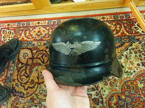 Found two helmets at an antique store near me and I need an informed opinion