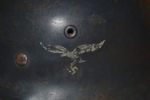 M42 luftwaffe fake decal ??
