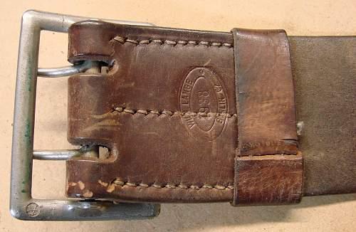 Click image for larger version.  Name:WWII German belt marking.jpg Views:391 Size:159.7 KB ID:65483