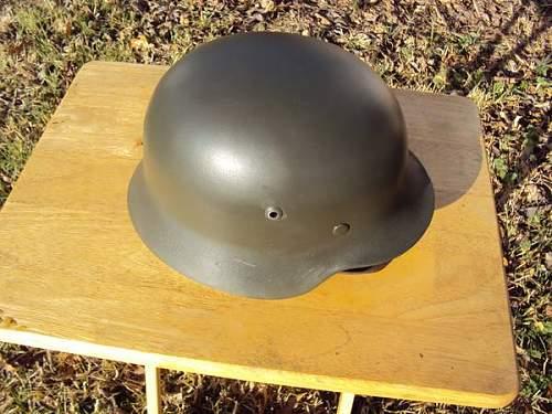 M40 helmet?