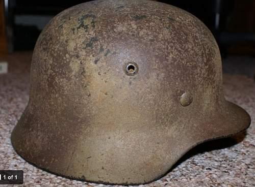 Help needed with camo? German helmet