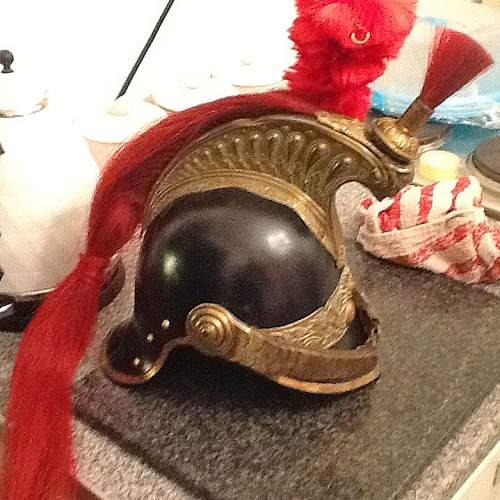 cuirassier helmet