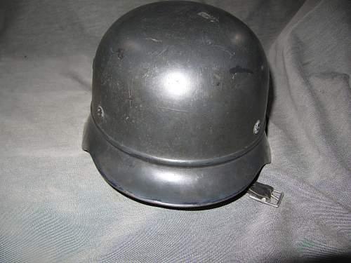 Beaded M40 police DD