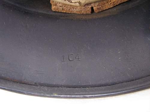 M40 Beaded Luftschutz - Q68 - Lot # 104