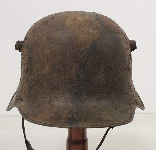 Question about helmet  M1918 cut-out. . . real or fake?
