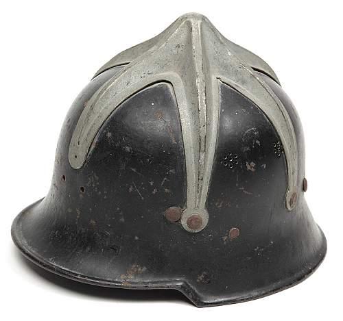 'octopus' m34 fire police helmet