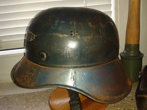 luftschutz helmet