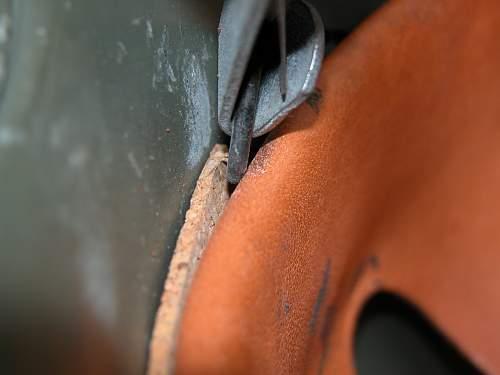 Lightweight Aluminium M18 Style Helmet, Textured Paint Finish. Minty!