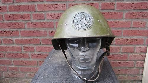 Dutch M34 helmet