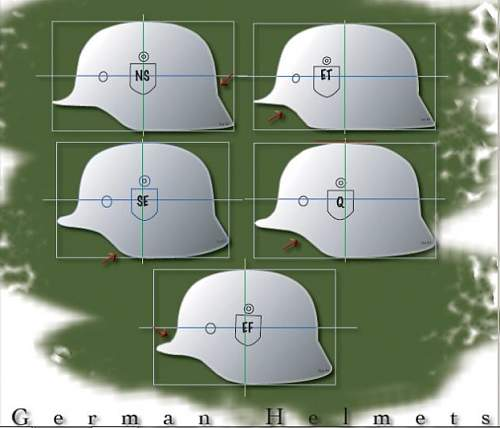 What is this M40 helmets manufacturer (shape)?
