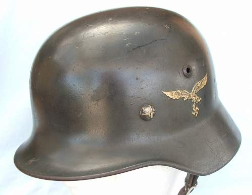 Click image for larger version.  Name:Luft M35 d-d helmet later type 002.jpg Views:30 Size:180.0 KB ID:676805