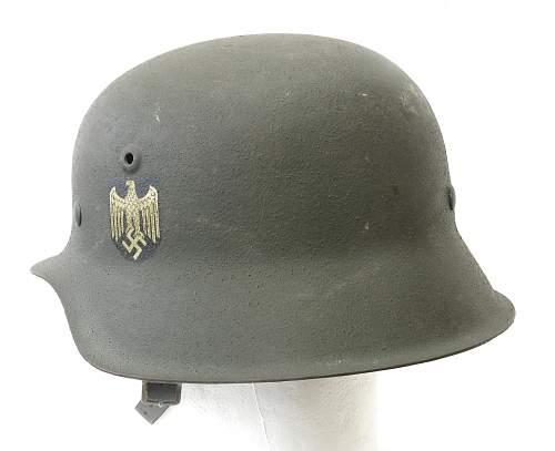 Click image for larger version.  Name:Heer M42 helmet 003.jpg Views:68 Size:220.0 KB ID:676942