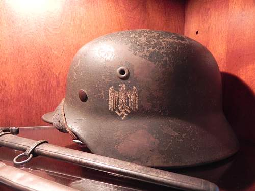 German helmets i have the opportunity to purchase