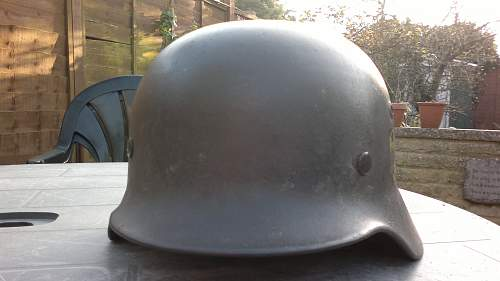 Posting for a friend: Single decal Heer M35