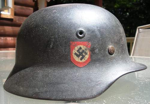 M-40 DD Police Helmet (combat texture)