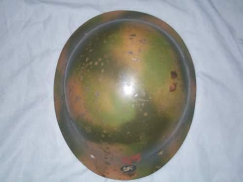 German Camo Helmet Authentic?
