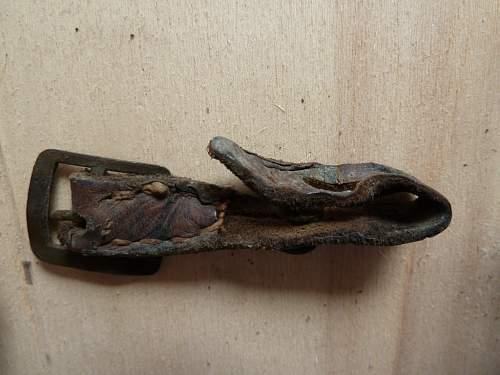 Original or fake chin strap?